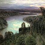 Vasnetsov Apollinary - Northern Territory, 900 Classic russian paintings