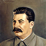 Portraits of Stalin - Peter Pusher, 900 Classic russian paintings