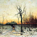 Klever Julius - Winter, 900 Classic russian paintings