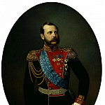 TYURIN Ivan - Alexander II, 900 Classic russian paintings