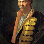NIKITIN Ivan – Portrait of floor Hetman, 900 Classic russian paintings