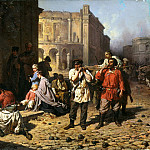 900 Classic russian paintings - Philip Constantine - in besieged Sevastopol