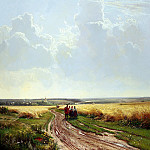 Noon. In the vicinity of Moscow, Ivan Ivanovich Shishkin