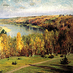 900 Classic russian paintings - Polenov Vasily - Golden Autumn