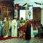 900 Classic russian paintings - Bronnikov Fedor - The Baptism of Prince Vladimir