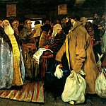 Ivan Sergei - Arrival of governor, 900 Classic russian paintings