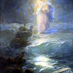 900 Classic russian paintings - Ivan Aivazovsky - Walking on Water