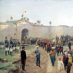 900 Classic russian paintings - Nikolai Dmitriev-Orenburgsky - Delivery of the fortress of Nikopol July 4, 1877
