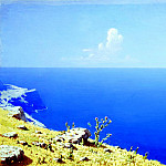 900 Classic russian paintings - Kuindzhi Arkhip - Sea. Crimea