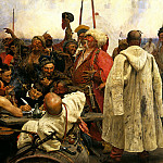 900 Classic russian paintings - Ilya Repin - Zaporizzya.