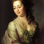 Levitsky Dmitry - Portrait of Maria Alexeevna Dzyakova, 900 Classic russian paintings