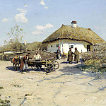 900 Classic russian paintings - Vasilkovsky Sergey - Okolitsa