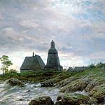 Lagorio Lev - Northern landscape, 900 Classic russian paintings