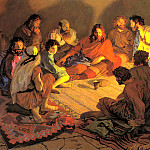 900 Classic russian paintings - POPOV Paul - The Last Supper