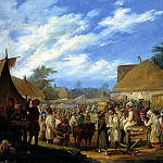 STERNBERG Basil - Fair in Ukraine, 900 Classic russian paintings