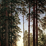 900 Classic russian paintings - Shishkin Ivan - Edge of the Forest