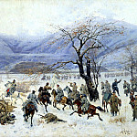 900 Classic russian paintings - KIVSHENKO Alexei - Battle of Shipka-Sheinovo December 28, 1877