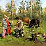 900 Classic russian paintings - Makovsky Vladimir - Rallus