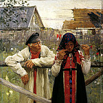 900 Classic russian paintings - Ivan Michael - waiting for reply