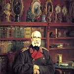 MAKOVSKY Constantin – Portrait of Count Sergei Stroganoff Georgiyevich, 900 Classic russian paintings
