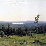 900 Classic russian paintings - Shishkin Ivan - Wood gave