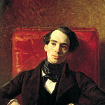 Portrait of the writer Aleksandar Strugovschikova, Karl Pavlovich Bryullov