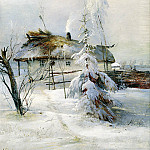 Alexei Savrasov – Winter, 900 Classic russian paintings
