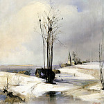 900 Classic russian paintings - Alexei Savrasov - Thaw
