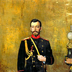 Ilya Repin - Nicholas II, 900 Classic russian paintings