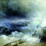 900 Classic russian paintings - Ivan Aivazovsky - Ocean