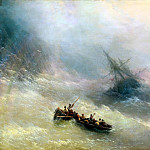 Ivan Aivazovsky – Rainbow, 900 Classic russian paintings