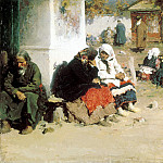 ARKHIPOV Abram - Radonitsa , 900 Classic russian paintings