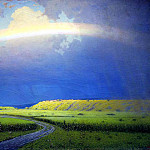 900 Classic russian paintings - Kuindzhi Arkhip - Rainbow