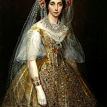 900 Classic russian paintings - MAKAROV Ivan - Grand Duchess Maria Alexandrovna