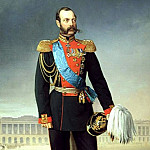 Boatman Egor – Emperor Alexander II, 900 Classic russian paintings