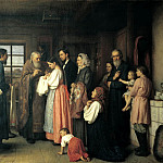 Carnea Akim – Christening, 900 Classic russian paintings