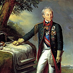 SHTEYBEN Karl – Portrait of Alexander Suvorov, 900 Classic russian paintings