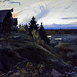Ivan Glazunov - Twilight, 900 Classic russian paintings