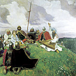 Viktor Vasnetsov - Bayan, 900 Classic russian paintings