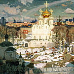 900 Classic russian paintings - Oksana PAVLOVA - Sunday
