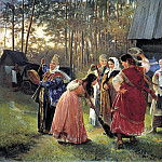 KORZUKHIN Alexei – hen, 900 Classic russian paintings