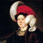 900 Classic russian paintings - Tropinin Vasily - Portrait of Countess Natalia Alexandrovna Zubov. 1834