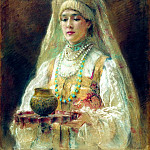 900 Classic russian paintings - MAKOVSKY Constantine - Charca honey
