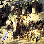 900 Classic russian paintings - Semiradsky Henryk - Sinner