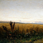 Miasoyedov Gregory - The road in the Rye, 900 Classic russian paintings