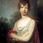 Borovikovsky Vladimir – Portrait of Grand Duchess Maria Pavlovna, 900 Classic russian paintings