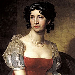 900 Classic russian paintings - Borovikovsky Vladimir - Portrait of Princess Margarita Dolgorukoi