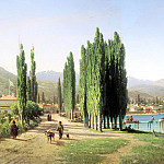 VERESHCHAGIN Peter – Sukhumi-Kale, 900 Classic russian paintings