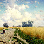 900 Classic russian paintings - Kryzhitsky Constantine - Road
