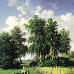 Brick Valerian - Type in the vicinity of Gatchina, 900 Classic russian paintings